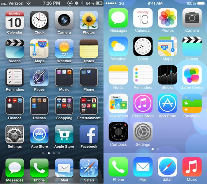 icones-smartphone-flat-design-skeuomorphisme